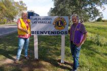 El Club de Leones instaló carteles de bienvenida en los accesos a la ciudad