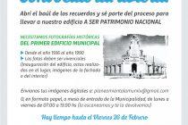 Impulsan iniciativa  para declarar Patrimonio Nacional al primer edificio municipal