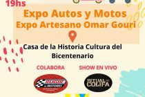 Este domingo Expo Auto y Motos en la Casa de la Cultura