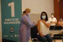 Vacunación: se completó la primera tanda de dosis enviada por Nación a Córdoba