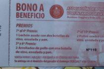 Bono contribución a beneficio de Bomberos