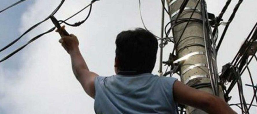 Un detenido por robo de cables