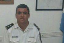 Diego Rodríguez dejó de ser Jefe de la Zona 3 de la Policía Departamental