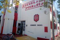 Preparativos para volver  a las clases presenciales en la Escuela Rivadavia