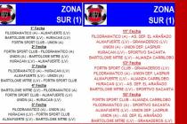 Sortearon los fixtures de la Liga Regional de Fútbol San Francisco