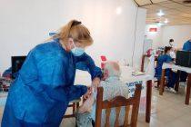 Esta semana se vacunaron a 426 personas contra el covid en Las Varillas