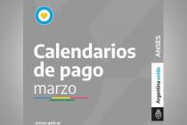 Cronograma de pago de ANSES correspondiente a marzo