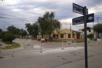 Iniciaron trabajos de bacheo en la intersección de Carlos Pellegrini y Buenos Aires