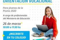 Encuentro virtual de Orientación Vocacional