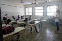 Se iniciaron las clases presenciales en escuelas varillenses