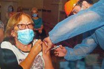 Covid-19: Blanca recibió la vacuna número 200 mil en la provincia de Córdoba