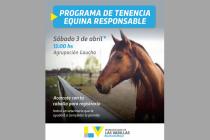 Este sábado comienzan a registrar a los equinos en la Agrupación Gaucha Medardo Álvarez