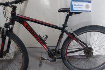 Recuperaron bicicleta que había sido robada el año pasado