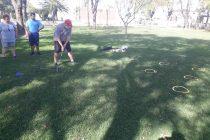 Alumnos de la Escuela Varillense de Deporte Adaptado comenzaron con las clases de golf