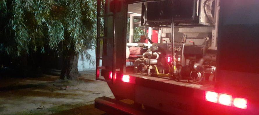 Sofocaron incendio de vivienda en calle Laprida