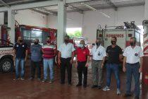 Autoridades del Sistema Nacional de Bomberos, visitaron nuestra ciudad