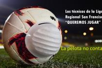 Los técnicos le reclaman a los intendentes del Dpto. el inmediato regreso del fútbol (con audio)