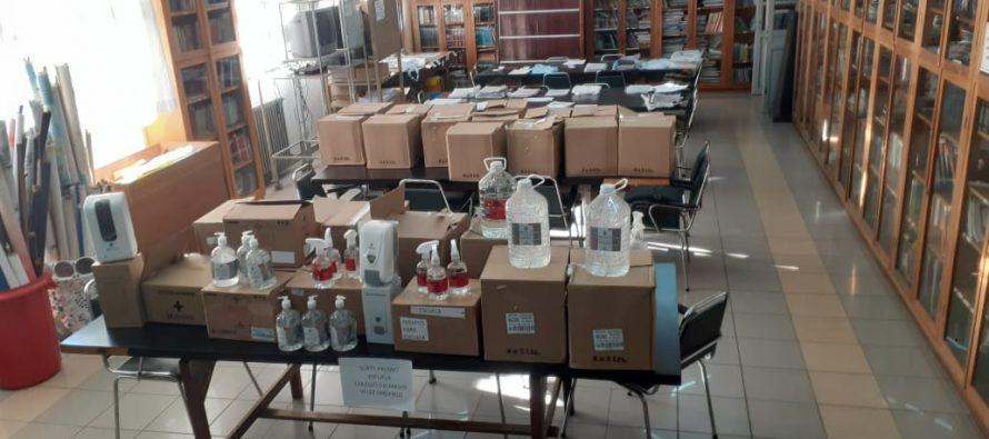 Satisfacción en la Escuela Vélez Sársfield por donaciones recibidas