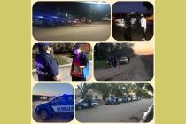Realizaron operativo de seguridad en Laspiur