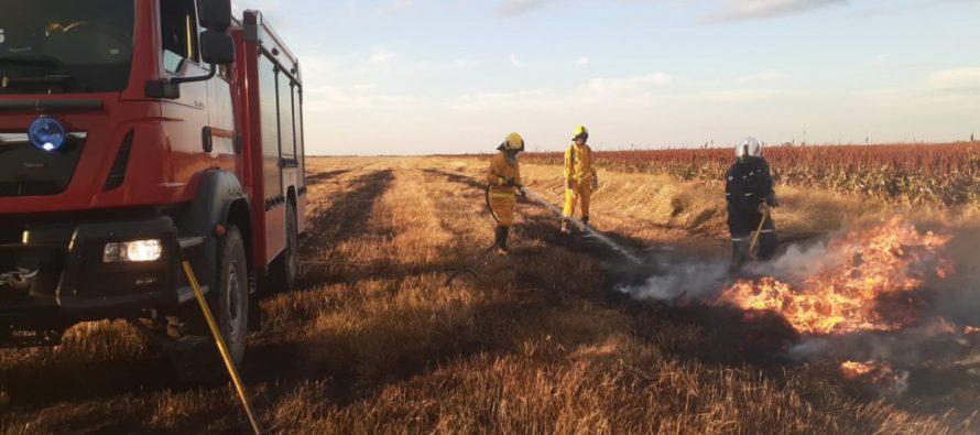 Dos salidas de bomberos hubo ayer