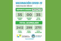 Información oficial sobre vacunaciones covid