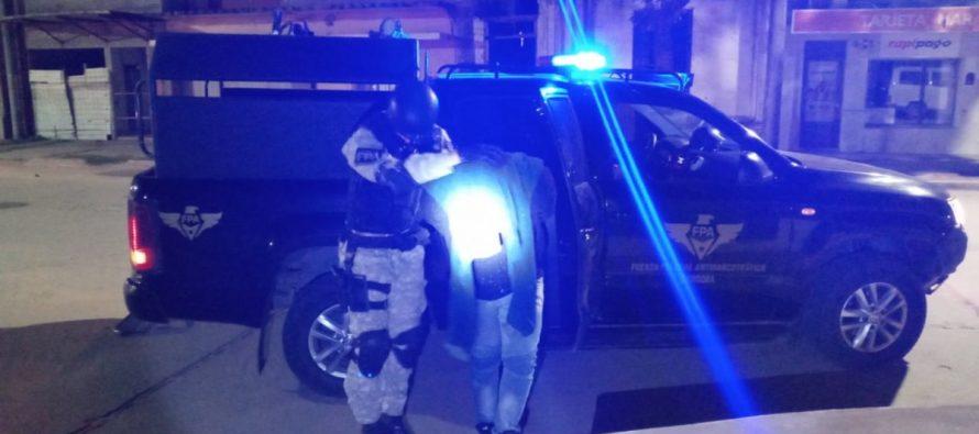 FPA secuestró 4 kilos de marihuana en las varillas, hay un detenido