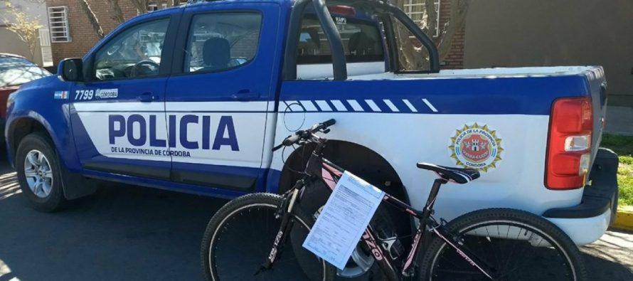 Reconoció la bicicleta que le habían robado y la recuperó