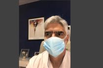 """""""Es una falta de respeto  decir que los médicos se relajaron"""" ,dijo el doctor Gustavo Insaurralde"""