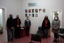 Incorporaron las imágenes de los desaparecidos de Las Varillas al mural del recinto legislativo