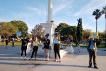 """Realizaron la campaña """"Nos cuidamos Juntos"""" en los espacios verdes más concurridos"""