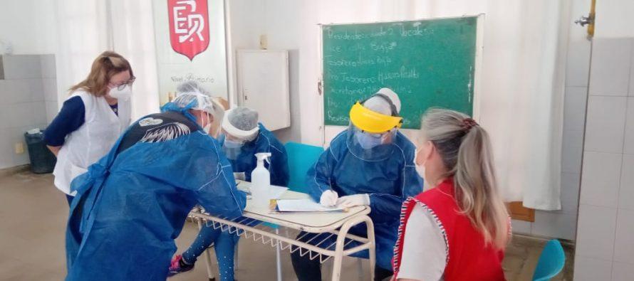 Testeados negativos en la Escuela Rivadavia